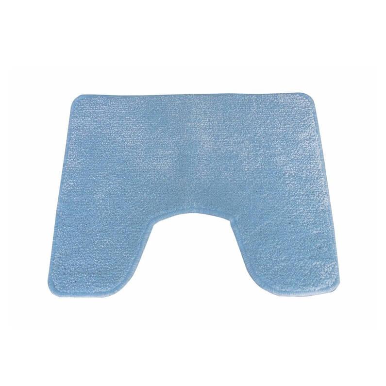 Tapis Contour De Wc Bidet Lavabo Bleu 60x40 Cm Zen Garantie 1 An