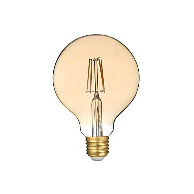 Ampoule Led Filament Globe à Vis E27 Diam 95cm 28w Led économie Dénergie